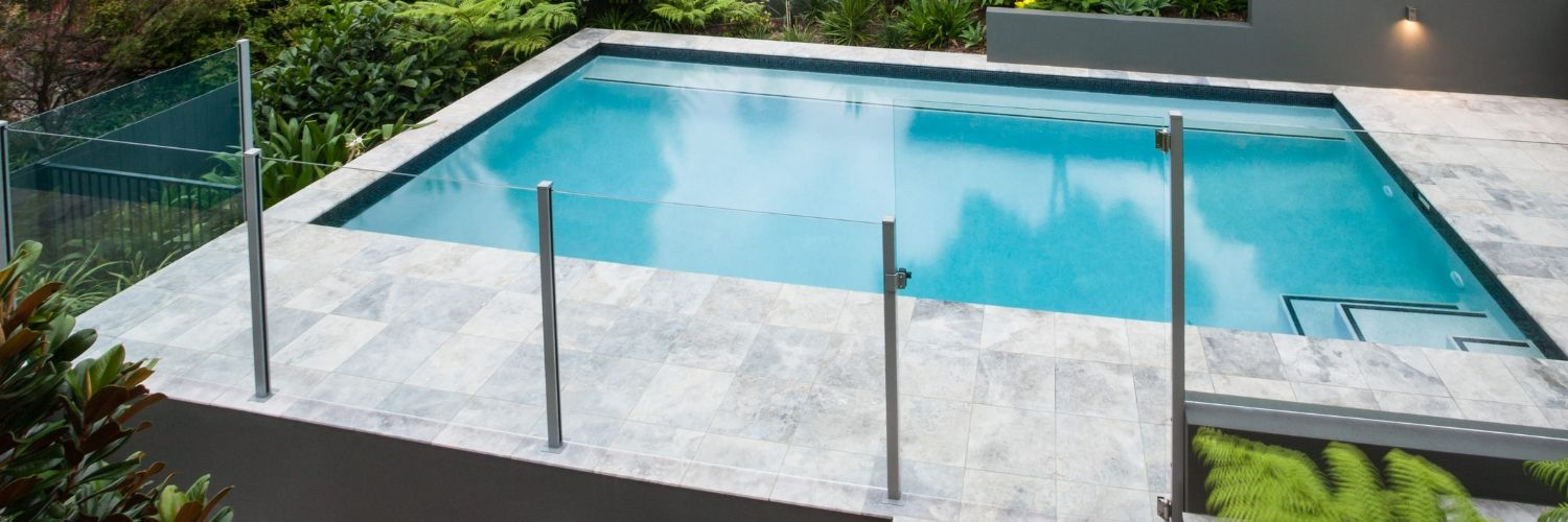 semi frameless glass fence eastern suburbs